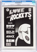 Magazines:Underground, Love and Rockets B&W #1 (A Hernandez Production, 1981) CGC NM/MT 9.8 White pages....