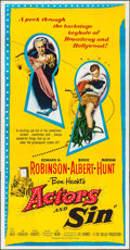 "Movie Posters:Comedy, Actors and Sin (United Artists, 1952). Three Sheet (41"" X 79""). Comedy.. ..."