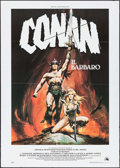 "Movie Posters:Action, Conan the Barbarian (20th Century Fox, 1982). Italian 2 - Fogli(39.25"" X 55""). Action.. ..."