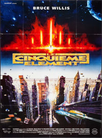"The Fifth Element (Gaumont Buena Vista International, 1997). French Grande (45.5"" X 62""). Science Fiction"