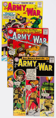 Our Army at War Group of 7 (DC, 1965) Condition: Average VF-.... (Total: 7 Comic Books)
