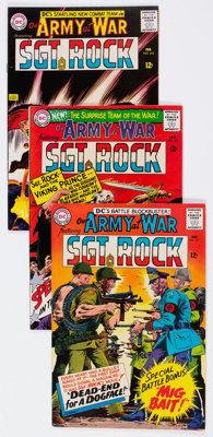 Our Army at War #161-170 Group (DC, 1965-66) Condition: Average VF-.... (Total: 10 Comic Books)