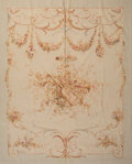 Furniture : Continental, An Aubusson Tapestry. 84 x 68 inches (213.4 x 172.7 cm). ...