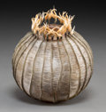 Art Glass:Other , Cathy Strokowsky (Canadian, b. 1967). Onion Bloom, 2004.Glass, artificial tendons. 6-1/4 inches high (15.9 cm). Signed ...