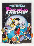 "Movie Posters:Animation, Pinocchio (Walt Disney Productions, R-1980s). French Grande (47"" X 63""). Animation.. ..."