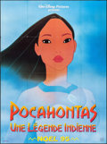 "Movie Posters:Animation, Pocahontas (Gaumont/Buena Vista, 1995). French Grande (46"" X 62"")Advance. Animation.. ..."