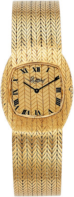 Bueche Girod Lady's Gold Watch, retailed by Ruser