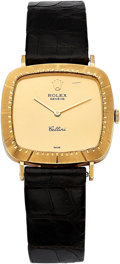 Estate Jewelry:Watches, Rolex Lady's Gold Cellini Watch. ...