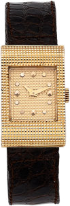 Estate Jewelry:Watches, Boucheron Lady's Gold Reflet Watch, Paris. ... (Total: 3 Items)