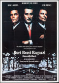 "Movie Posters:Crime, Goodfellas (Warner Brothers, 1990). Italian 4 - Fogli (55"" X 77"").Crime.. ..."