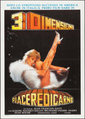 "Movie Posters:Sexploitation, Infidélités & Other Lot (Fotocrom, R-1985). Italian 2 - Foglis(2) (39.25"" X 55.25"", 39.25"" X 55"") 3-D Style. Sexploitation....(Total: 2 Items)"