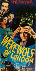 "Movie Posters:Horror, Werewolf of London (Universal, 1935). Cut Linen Finish Pressbook(17 Pages, 13"" X 26"").. ..."