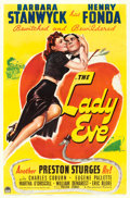"Movie Posters:Comedy, The Lady Eve (Paramount, 1941). One Sheet (27"" X 41"").. ..."