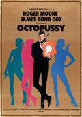 "Movie Posters:James Bond, Octopussy (MGM/UA, 1983). English Language Japanese B1 (28.5"" X 40.5"") Teaser.. ..."