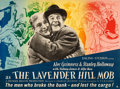 "Movie Posters:Comedy, The Lavender Hill Mob (GFD, 1951). Full-Bleed British Quad (30"" X40"") Ronald Searle Artwork.. ..."