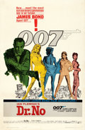 "Movie Posters:James Bond, Dr. No (United Artists, 1962). One Sheet (27"" X 41"") Michael HooksArtwork.. ..."