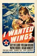 "Movie Posters:War, I Wanted Wings (Paramount, 1941). One Sheet (27"" X 41"") Style A.. ..."