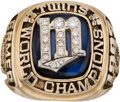 Baseball Collectibles:Others, 1987 Minnesota Twins World Series Championship Ring Presented to Former Manager Cal Ermer. . ...