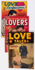 Golden Age (1938-1955):Romance, Comic Books - Assorted Golden Age Romance Comics Group of 12(Various Publishers, 1950s) Condition: Average GD/VG.... (Total: 12Comic Books)