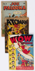 Golden Age (1938-1955):Miscellaneous, Comic Books - Assorted Golden Age Comics Group of 26 (Various Publishers, 1940s-50s) Condition: Average GD+.... (Total: 26 Comic Books)