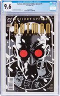 Modern Age (1980-Present):Superhero, The Batman Adventures Holiday Special #1 (DC, 1995) CGC NM+ 9.6White pages....