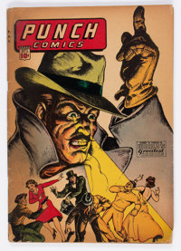 Punch Comics #10 (Chesler, 1944) Condition: GD
