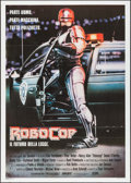 "Movie Posters:Action, RoboCop (Orion, 1987). Italian 2 - Fogli (39.25"" X 55.25"").Action.. ..."
