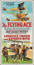 "Movie Posters:Black Films, The Flying Ace (Norman, 1926). Three Sheet (41"" X 78""). BlackFilms.. ..."