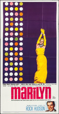 "Movie Posters:Documentary, Marilyn (20th Century Fox, 1963). Three Sheet (41"" X 79""). Documentary.. ..."