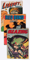 Golden Age (1938-1955):Miscellaneous, Comic Books - Assorted Golden Age Comics Group of 4 (Various Publishers, 1940s).... (Total: 4 Comic Books)