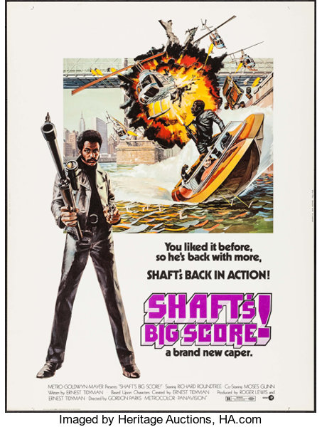 Shaft S Big Score Other Lot Mgm 1972 Posters 2 30 Lot