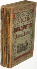 Books:Literature Pre-1900, Anthony Trollope. The Vicar of Bullhampton. London: 1869-1870. First edition, in the original monthly parts....