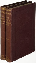 Books:Travels & Voyages, [Richard F. Burton]. Wanderings in West Africa. London:1863. First edition.... (Total: 2 Items)
