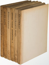 William Shakespeare. The Players' Shakespeare. London: 1923-1927. Players' Shakespeare edition