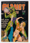 Golden Age (1938-1955):Science Fiction, Planet Comics #36 (Fiction House, 1945) Condition: VG/FN....