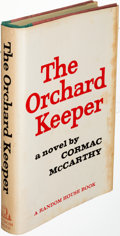 Books:Literature 1900-up, Cormac McCarthy. The Orchard Keeper. New York: 1965. Firstedition....
