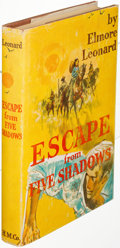 Books:Literature 1900-up, Elmore Leonard. Escape from Five Shadows. Boston: 1956.First edition, inscribed....