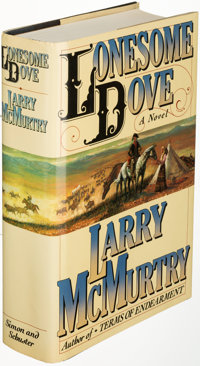 Larry McMurtry. Lonesome Dove. New York: [1985]. First edition, inscribed