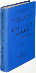 Books:Literature 1900-up, Gertrude Stein. Lucy Church Amiably. Paris: 1930. Firstedition....