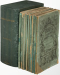 Books:Literature Pre-1900, Charles Dickens. Dombey and Son. London: 1846-1848. Firstedition in the original monthly parts....