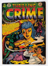 Thrilling Crime Cases #49 (Star Publications, 1952) Condition: FN-
