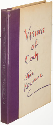 Jack Kerouac. Excerpts from Visions of Cody. [New York: 1960]. First edition, limited to 750 co