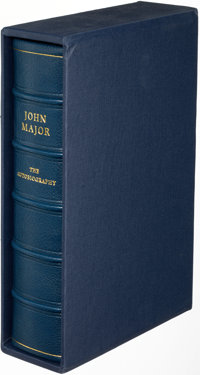 [John Major, Margaret Thatcher]. Pair of by Autobiographies by Prime Ministers. London: [1993-1999]. First editions