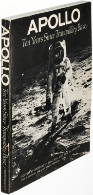 [Space Exploration]. Group of Eleven Books about the Space Program. [Various Places: 1966-2015]. Generally first or e