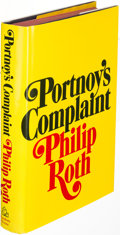 Books:Literature 1900-up, Philip Roth. Portnoy's Complaint. New York: [1969]. First edition, association copy, inscribed....