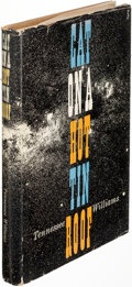 Books:Literature 1900-up, Tennessee Williams. Cat on a Hot Tin Roof. [New York: 1955]. First edition, signed....