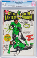 Bronze Age (1970-1979):Superhero, Green Lantern #87 (DC, 1971) CGC NM+ 9.6 White pages....