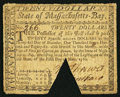 Colonial Notes:Massachusetts, Massachusetts May 5, 1780 $20 About Fine.. ...