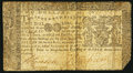 Colonial Notes:Maryland, Maryland March 1, 1770 $2 Very Good-Fine.. ...