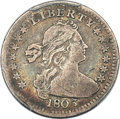 Early Half Dimes, 1803 H10C Large 8, V-1, LM-2, R.4, VF25 PCGS....